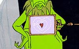 Grinch heart Dr. Karin Smithson