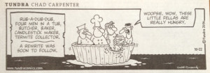 Rub-a-dub cartoon